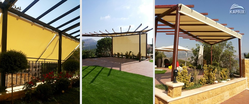 Awnings and pergolas in Lebanon